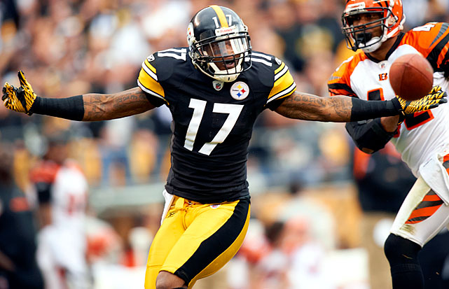 Coming off his second consecutive 1,000-yard season in his first three seasons, 26-year-old receiver Mike Wallace, a restricted free agent, chose to hold out from joining the Steelers until after the third preseason game. He wanted more than the $2.72 million one-year tender, also balking at an estimated $42 million, five-year offer Pittsburgh is thought to have previously extended. Rather than set a precedent for giving into player demands, the Steelers instead stuck it to Wallace by giving a five-year, $42.5 million deal to fellow receiver Antonio Brown. Wallace finally gave in and reported to the team.