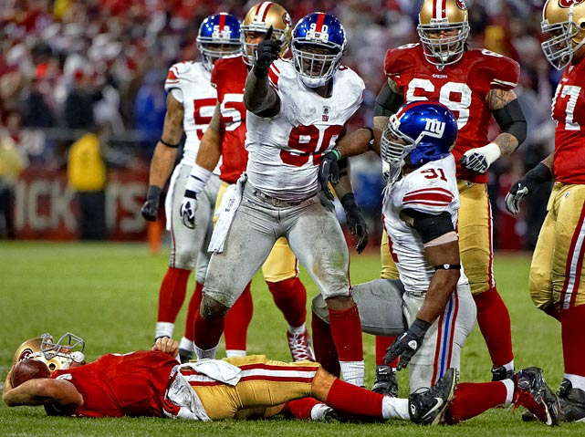 Jason Pierre-Paul was considered an athletic freak, but incredibly raw when he was drafted in 2010, but he has worked to become one of the best defensive ends in the league in two short seasons. He appeared in all 16 games right away, then saw a dramatic spike in 2011 with 16.5 sacks, fourth-best in the league.