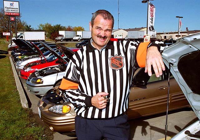 Referee Don Van Massenhoven became a sales consultant at Dale Wurfel Pontiac/Buick/GMC Ltd. in Strathroy, Ontario. Fellow referee Bill McCreary installed kitchen cabinets, and Stephen Walkom coached girls hockey.