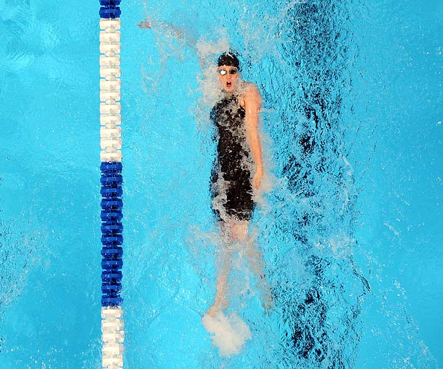 The University of Georgia star finished seventh in the 200 free at the U.S. Olympic Trials, missing a spot as a relay alternate by 0.16 seconds. Romano, who excels in both freestyle and backstroke, had a strong junior season for the Bulldogs in 2012. She won the NCAA title in the 200 free and finished second in the 100 back.