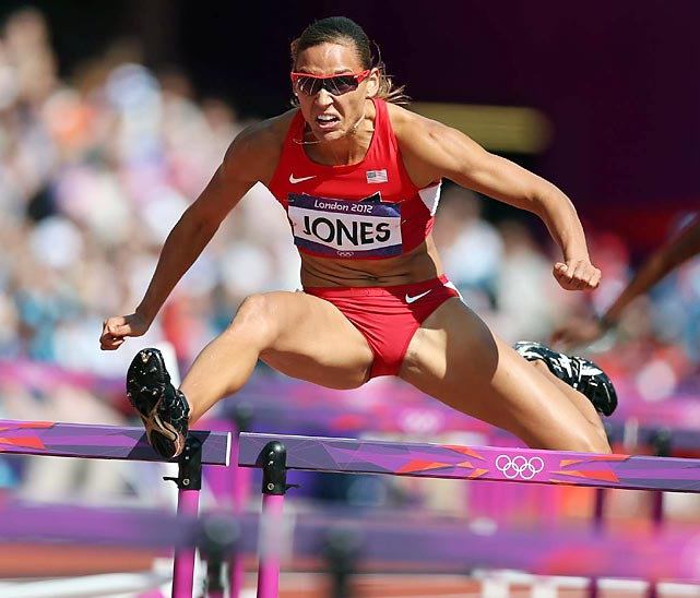Lolo Jones debuted Monday morning during the 100-meter hurdles qualifying. After a disappointing ninth place finish in 2008, Jones will be the center of attention for the finals.