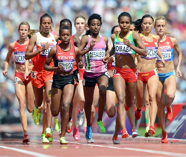 The women's 1,500 meter race kicked off with three preliminary races to determine the semifinalists.