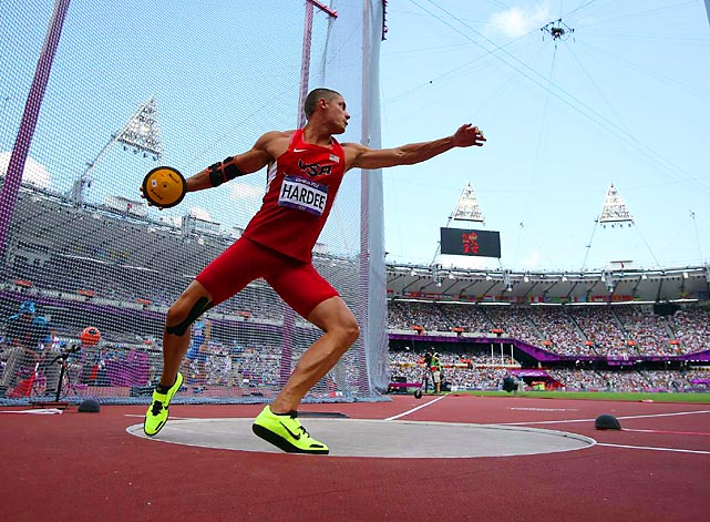 In second place after Day 1 of decathlon, Trey Hardee held on to win silver for the U.S.