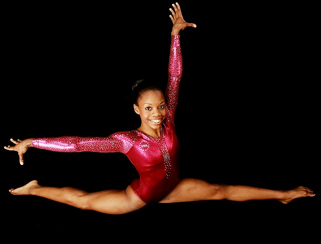Olympic gold medalist Gabby Douglas poses for the 2012 Team USA Media Summit.