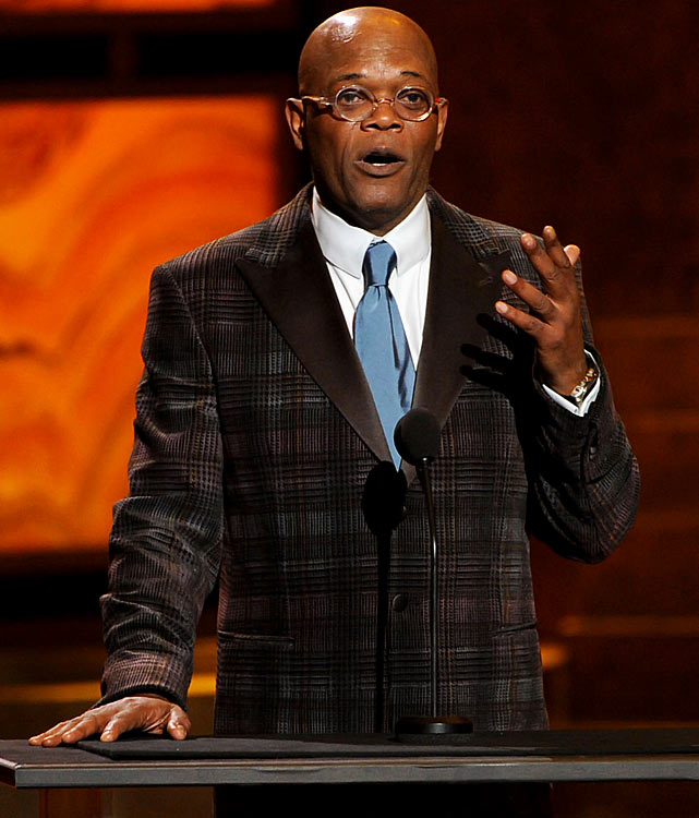Few can match the exclamation-pointed and often PG-13 rated enthusiasm of actor Samuel L. Jackson, who's been tweeting about the Games from home.  Here are some of his more notable tweets.