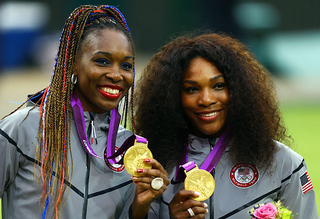 Gotta give Late Props to VENUS & Serena! TREYPEATING GOLD!!!  Midas ain't got Nothing on Y'all!! Go USA!!