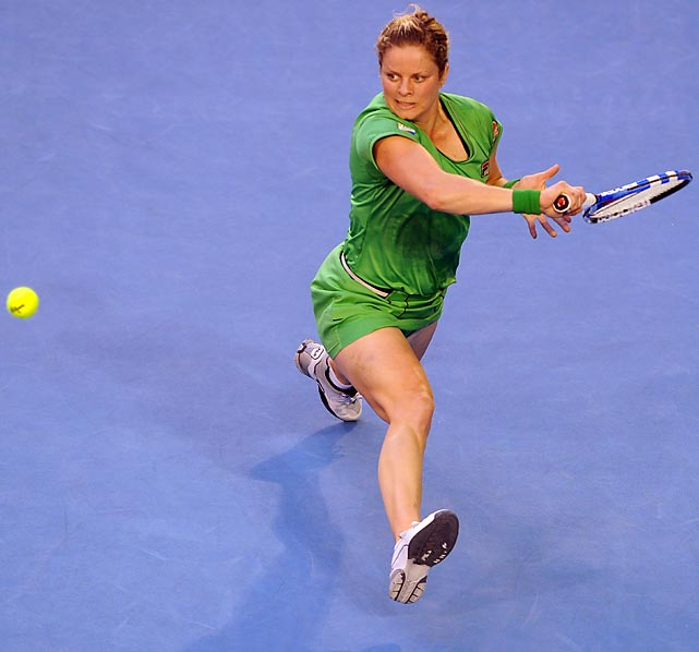 Clijsters came out firing to start the 2011 season, finishing runner-up to Li Na in Sydney and claiming her fourth (and final) Grand Slam title at the Australian Open. She also briefly took over the No. 1 ranking, becoming the first mother to hold the WTA's top spot. But injuries would derail the rest of her year and she'd play only three events in the last seven months.