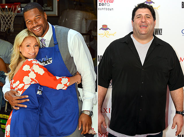 "Re: Michael Strahan joins ""Live!"" with Kelly Ripa. What, Tony Siragusa booked through 2018?"