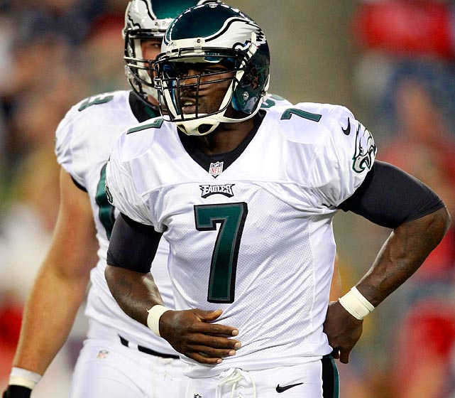 Maker of Michael Vick's new flak jacket guarantees he won't get hurt