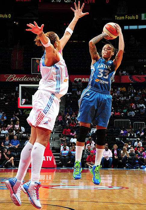 The Lynx star helped the defending champs finish with the league's best record (27-7) with her usual all-around solid play: 16.6 points, 3.6 rebounds and 2.5 assists.
