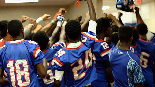 "For the fourth installment of the ""Underdogs"" series, SI.com visits Pahokee (Fla.) High, a once proud football powerhouse -- the Blue Devils have won six state titles, most recently in 2008 -- coming off of two straight subpar seasons. But hope remains. The town is confident that a turnaround is finally in the works.  Blaze Thompson, a Pahokee native who was an all-state center during his playing days, coaches a team heavy on both experience and legacy. Thompson brought back his father, Don, who coached the Blue Devils from 1984 to 1992, as an assistant. The duo is dedicated to reinvigorating the fans, many of whom slipped away as the team faded into mediocrity.  The real underdog is the town. Known as ""Muck City,"" Pahokee was once one of the nation's biggest producers of sugar cane. Now that's dried up, and unemployment hovers around 40 percent. Coaches and players view football as an escape -- and a ticket to a better future."