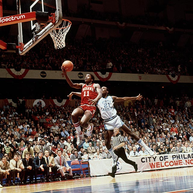 After an illustrious high school career at St. Joseph High School (Ill.), Thomas committed to the University of Indiana in 1979. Under head coach Bob Knight, Thomas flourished, averaging 15.4 points and 5.7 assists en route to Big Ten titles in 1979-80 and 1980-81.