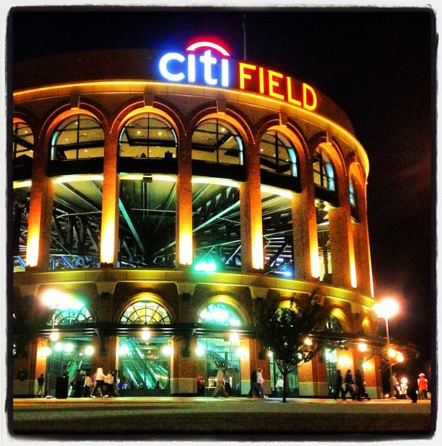 CitiField after the Mets-Nationals game.
