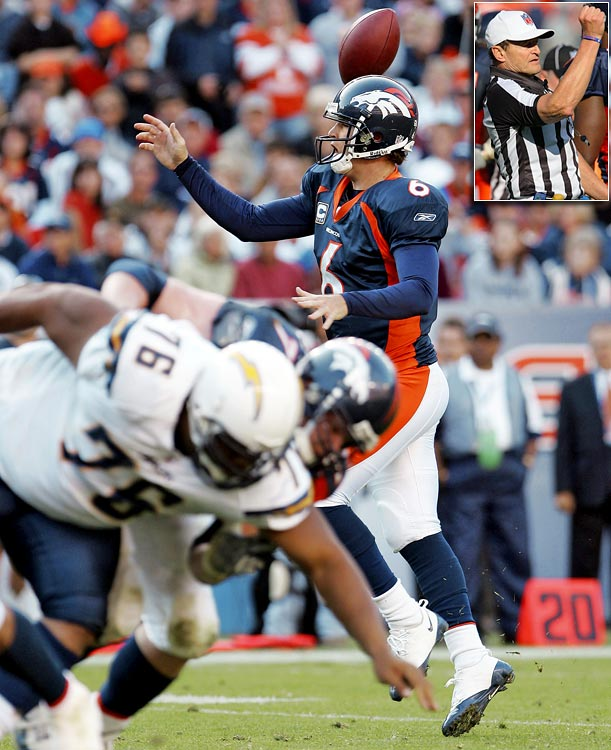 The NFL made a rare admission of error after veteran referee Ed Hochuli ruled an incomplete pass what appeared to be a fumble, giving the Broncos the lucky break they needed to score a touchdown and make the two-point conversion en route to a 39-38 victory.