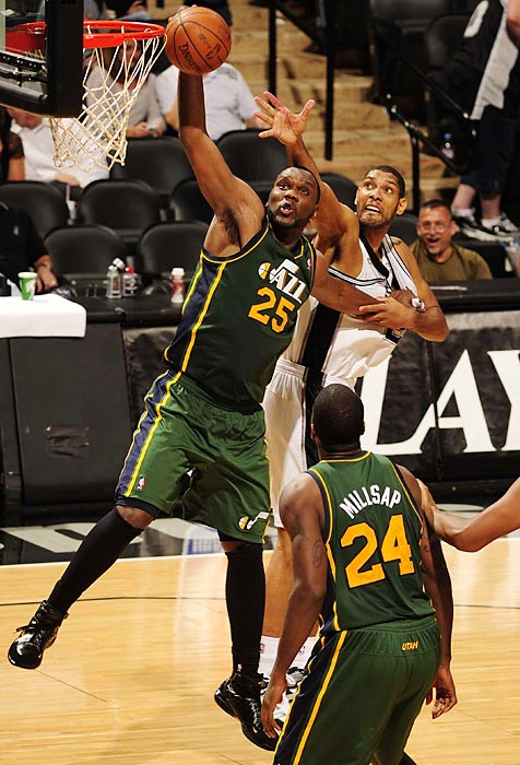 The 2012 free-agent market has been picked pretty clean. How does next summer's class shape up? SI.com concludes its countdown of the top potential 2013 free agents with Nos. 10-1.   Jefferson has been the centerpiece of the Jazz offense since they parted ways with Deron Williams in 2011, but his future with the team is anyone's guess. Utah has a talented backup big man in Derrick Favors and also has to deal with the status of fellow unrestricted free agent Paul Millsap, meaning Jefferson and his $15 million salary could be elsewhere in 2013-14. A talented scorer on the block, the 27-year-old would have teams lining up for his services even with his defensive deficiencies.