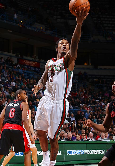 Jennings posted career highs in points (19.1), field-goal percentage (41.8 percent), steals (1.6) and minutes (35.3) last season, but his Bucks missed the playoffs for a second straight year. He's expressed interest in signing an extension in Milwaukee, but the Bucks have given no indication that anything will get done with their star point guard before next summer.