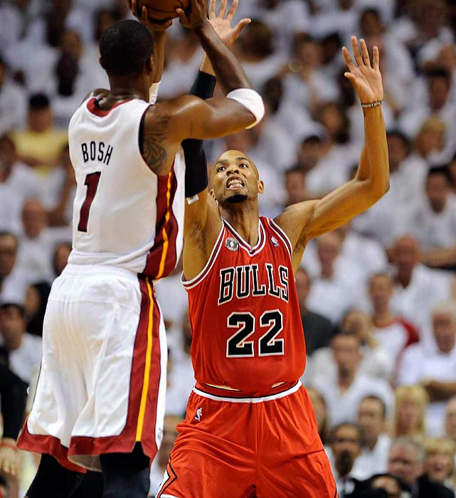 With his thunderous dunks and emphatic blocks, Gibson is a highlight waiting to happen for the Bulls. The 6-foot-9 forward's length is also an integral piece of a Chicago defense that held opponents to a league-low 88.17 points per game last season. Having lost fellow big man Omer Asik this offseason, the Bulls have expressed interest in locking Gibson up before he can even hit the market.
