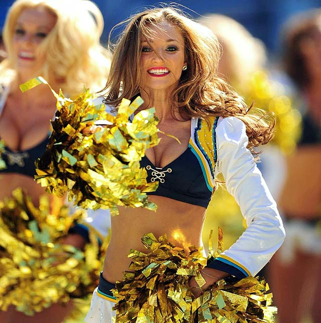 San Diego Chargers Cheerleader: NFL Cheerleaders: Week 3