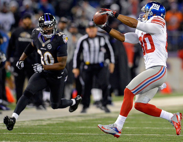 The Ravens safety was fined $55,000 for his high hit on Giants wide receiver Victor Cruz.  Reed struck Cruz in the head and neck area, and was penalized for the hit in the game.