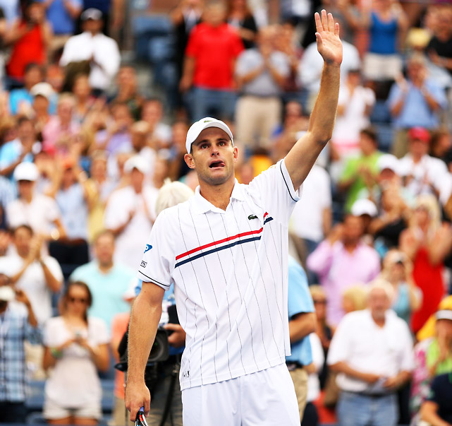 In a relatively surprising move, Roddick announced on his 30th birthday the U.S. Open would be his final tournament. The 2003 Open champ went on to win two more matches over Bernard Tomic and Fabio Fognini, but ran into big-hitting Argentine Juan Martin del Potro in the fourth round. After carrying U.S. men's tennis as a regular in the top 10 for more than a decade, Roddick ends his career as a former No. 1 with 32 singles titles and a match record of 612-213.