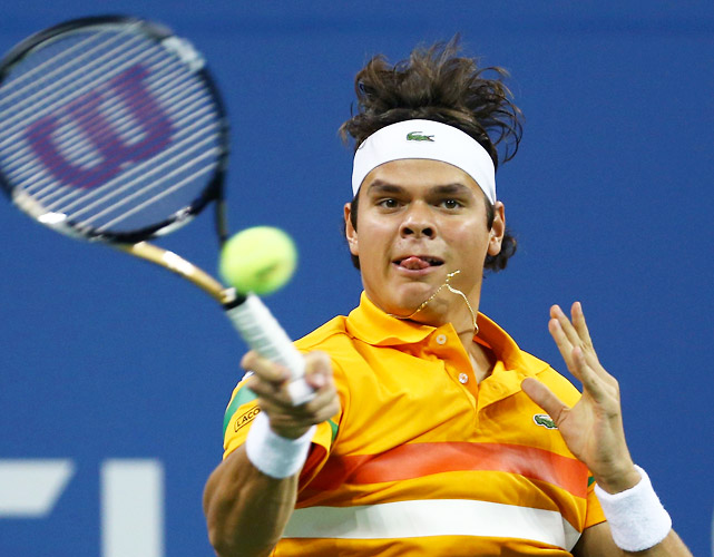 Milos Raonic came up short in his quest for his first Grand Slam quarterfinal appearance, falling to Andy Murray in the fourth round. Still, it was a good showing for the young Canadian, who became just the second player in history to record more than 30 aces in multiple matches at the same U.S. Open.