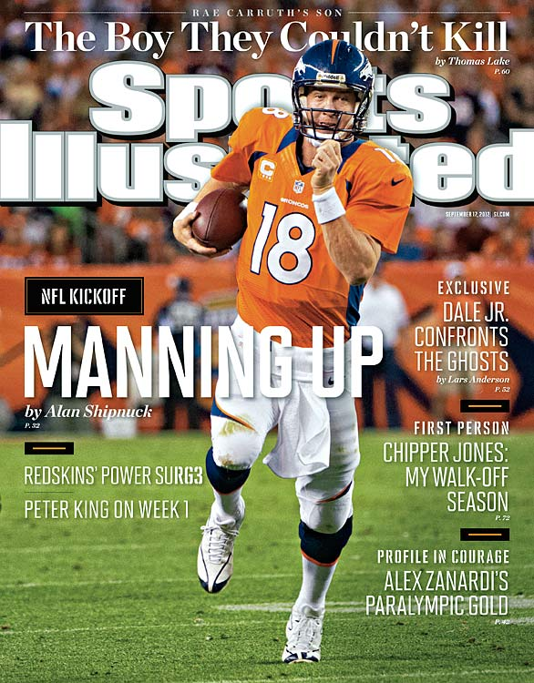 Were you really going to doubt him? Peyton Manning showed that even if he is not yet 100-percent, he still remains the top player to ever line up under center. Alan Shipnuck breaks down Manning's return to action in a new uniform and states explicitly that if Manning improves on his stellar performance against the Steelers, the Broncos will immediately contend in the AFC.