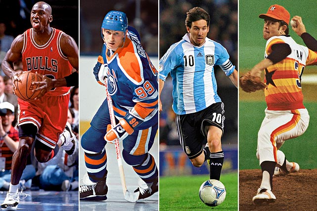 """Speed is the fundamental component of sports."" Tim Layden breaks down some of the world's all-time greatest athletes and how speed affects every sport."