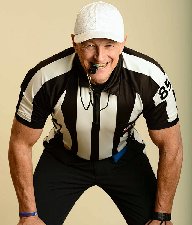 """Again...I never knew it was possible to miss another human being as much as I miss Ed Hochuli."""