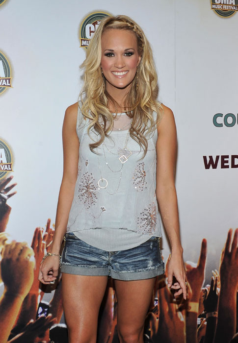 Underwood, a former American Idol winner, has been married to Predators center Mike Fisher for two years. The two started dating in 2008 after Fisher attended a concert of his future wife. Fisher's trade from Ottawa to Nashville in 2010 was done partly because Fisher had begun residing in Nashville full time following their marriage.   Sample Tweet: Happy anniversary to my handsome, sweet, smart, wonderful husband! Can't believe it's been 2 years! Time flies!