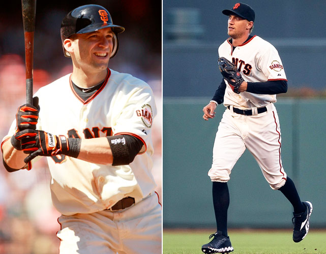 San Francisco made a couple of midseason trades that paid dividends. They got second baseman Marco Scutaro from the Rockies and outfielder Hunter Pence from the Phillies. Scutaro hit .362 in 61 games while Pence hit .219 in 59 games and finished with over 100 RBI for first time in career.