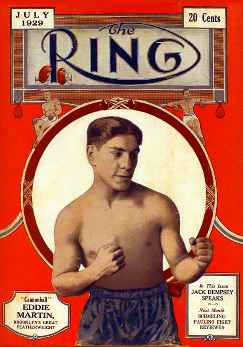 Martin won recognition from the New York State Athletic Commission as the world bantamweight champion with a split-decision victory over Abe Goldstein in 1924.  Martin would later lose a pair of 1928 Junior Lightweight title shots to Todd? Morgan, the second at the famed Ebbets Field in Brooklyn.
