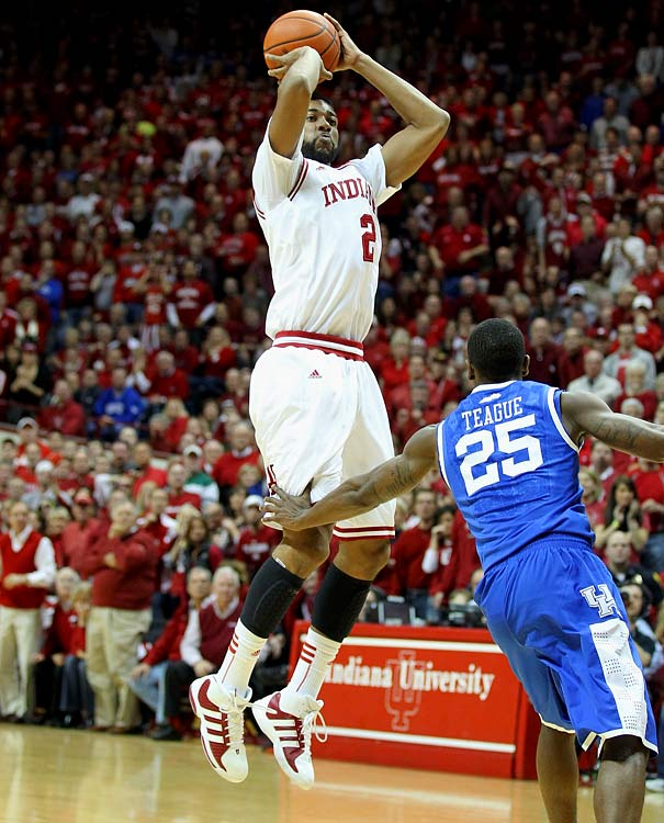 Stats to know: 12.6 ppg, 5.8 rpg, 43.7% 3P  The shooter of last season's most celebrated shot -- a buzzer-beating three to knock off No. 1 Kentucky at Assembly Hall in December -- can play inside and out and provides the Hoosiers with an excellent second option alongside Zeller.