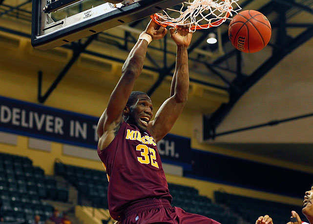 Stats to know: 14.0 ppg, 9.1 rpg, 60.4% FG  The 6-8, sixth-year forward, who tore his ACL in the seventh game of last season, will begin this season coming off the bench. But if Mbakwe is able to regain his pre-injury form, he will give the Golden Gophers a strong, athletic interior presence that could lift Minnesota back into the NCAA tournament.