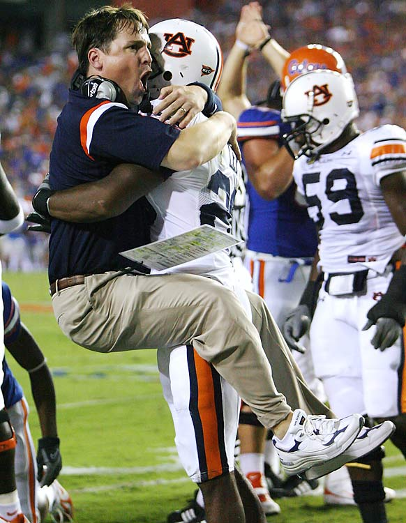 "Will Muschamp is nicknamed ""Coach Boom"" after his profanity-laced shouting was caught on live TV while he was defensive coordinator at Auburn in 2007."