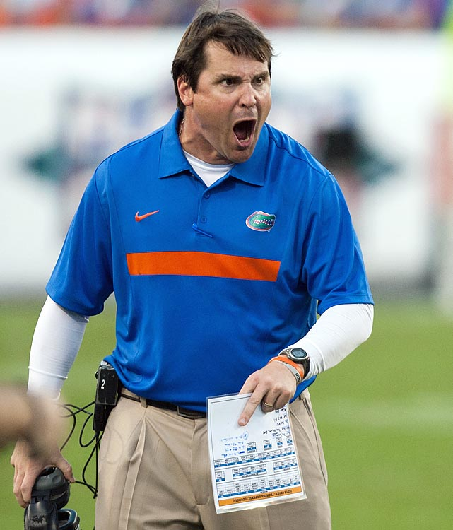 Muschamp attended the University of Georgia. The Bulldogs defeated Muschamp's Gators in 2011 but Florida is looking for revenge on Oct. 27.