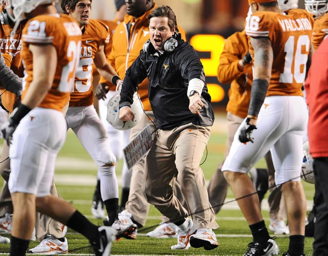Shortly after he joined Texas as a defensive coordinator in 2008, Muschamp was publicly labeled as the future successor of Longhorns coach Mack Brown.