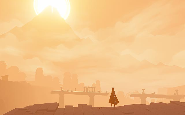 Journey is the sort of game that's better played than described because it does an amazing job of sucking you to its simple quest premise. It's a platform game at heart, but Journey's amazing visuals, intuitive controls, visual storytelling and lack of dialogue merge together to create a unique gaming experience that manages to make you care about the outcome by providing a sense of purpose most games completely whiff on. Journey was first released on the PlayStation Network as a download-only game, but now it's available as a standalone disc collection. Also included are two other titles from thatgamecompany, Flower and Flow. There's a handful of content about the making of Journey and three mini-games to round out the offering.  Journey only takes a few hours to play through, but it's a game you'll want to play more than once.  For $30, this offering is a great addition to any gaming collection.   Score: 10 out of 10