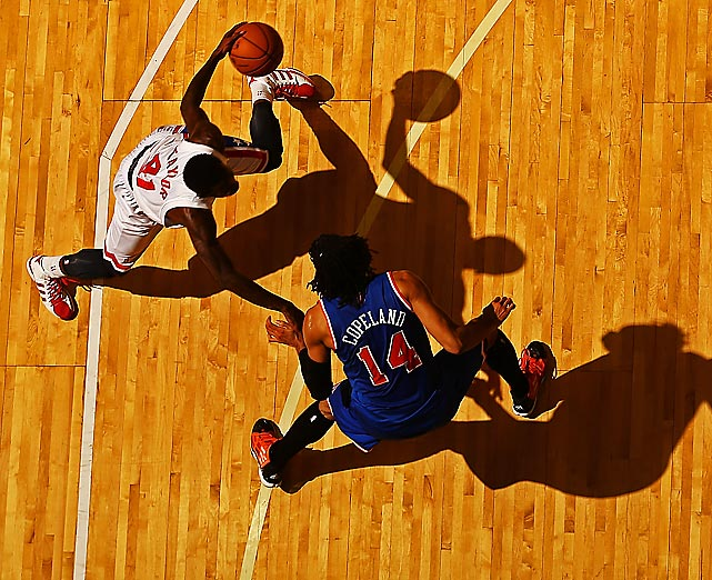 Knicks forward Chris Copeland defends Nets guard Tyshawn Taylor during an Oct. 24 preseason game in Uniondale, N.Y.