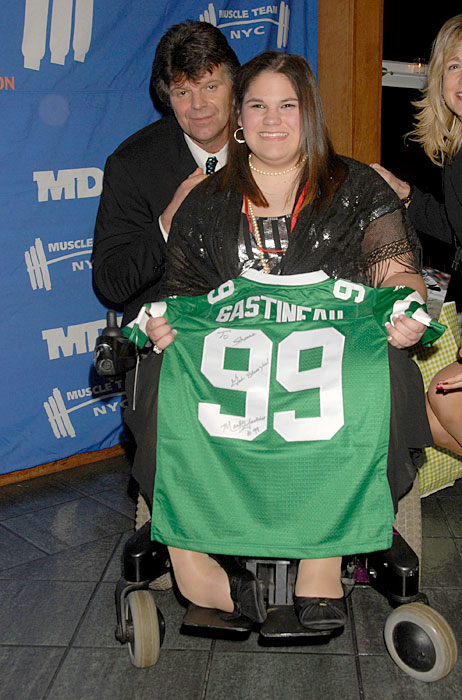 Gastineau attends the Muscular Dystrophy Association's 2008 Muscle Team Gala and Benefit Auction in New York City.