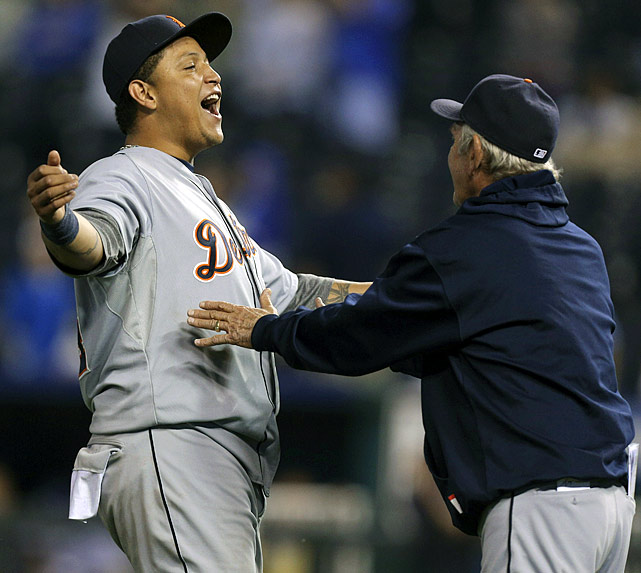 The Tigers wrapped up their second straight division crown but that was secondary to what Miguel Cabrera did. With a 4-for-5 night, including his 44th home run, Cabrera all but wrapped up the first Triple Crown in the majors since 1967.