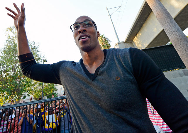 Dwight Howard wanted out. With rumors of Howard's imminent departure swirling for more than a year, the Magic traded the face of their franchise. In return, Orlando acquired six players from three teams, including Arron Afflalo, Nikola Vucevic, Al Harrington, Moe Harkless, Josh McRoberts and Christian Eyenga.