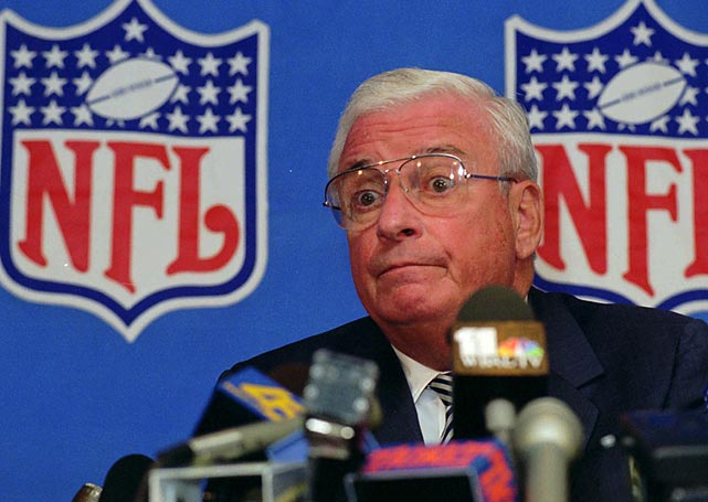 Browns owner Art Modell announced that the franchise that had played in Cleveland since 1946 in the old AAFC would move to Baltimore for the 1996 season. The move sparked outrage and multiple fan protests.