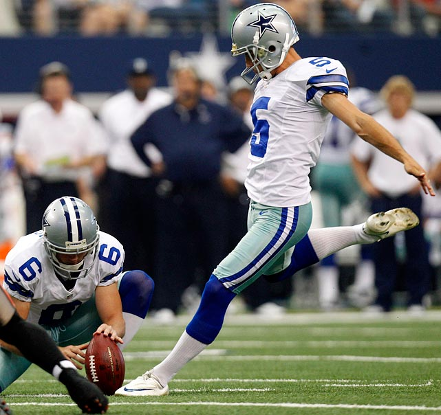 Not only have the Panthers surrendered more than three field-goal attempts per game so far this season, no opponent has missed against them, going a perfect 16-for-16. If the Cowboys don't turn the ball over (and that's a big if) Bailey will have a strong game.