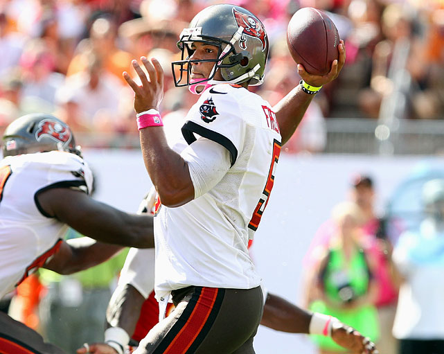 The league's third-ranked fantasy quarterback from Week 6 gets to stay home to face a Saints defense that has allowed opponents an average of 30.8 points per game and 298.8 yards per game through the air. If that's not enough: Freeman's top two wideouts, Vincent Jackson and Mike Williams, have combined for 394 yards and four touchdowns over their last two games.