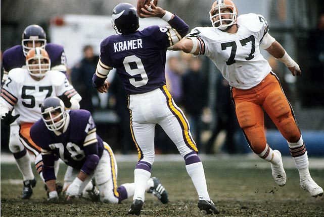 Tommy Kramer's 46-yard TD pass to Ahmad Rashad on the final play of the game culminates a wild rally as the Vikings score 19 unanswered fourth-quarter points to edge Cleveland 28-23 and secure a playoff berth.