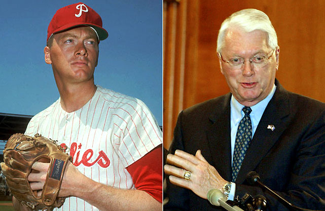 As a pitcher for the Tigers and Phillies, he blew away opponents and became the second player in history to win 100 games in both the American and National leagues. In 2010 he was the oldest Republican in the Senate and did not seek re-election.
