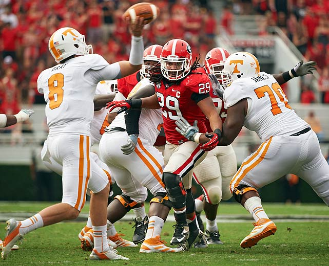 Jarvis Jones has overcome a career-threatening injury, a cross-country transfer and a family tragedy. Any questions? Andy Staples profiles the best defensive player in the SEC and what keeps Georgia's star going.