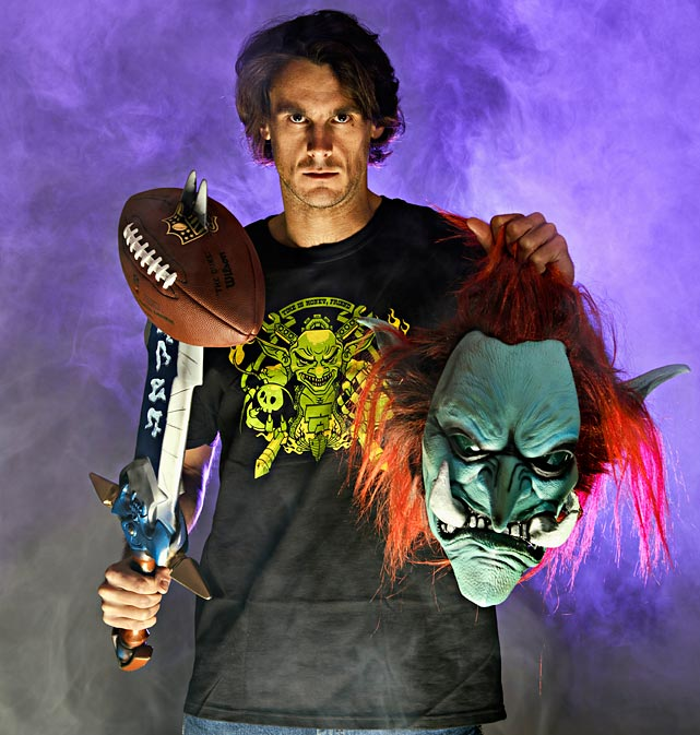 Chris Kluwe loves punting, but does he love it more than World of Warcraft? Jon Wertheim sits down with the enigmatic punter who has become a champion for gay marriage, is the bassist for a band called Tripping Icarus, and might be the most foul-mouthed NFL geek in the league.