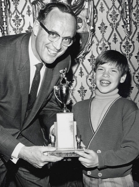 In the NHL, Toronto was trying to defend its Stanley Cup championship and the best players in the league were Chicago's Stan Mikita and Bobby Hull, Boston's Bobby Orr and Detroit's Bobby Hull. Meanwhile, a six-year-old named Messier was winning his first of many trophies.