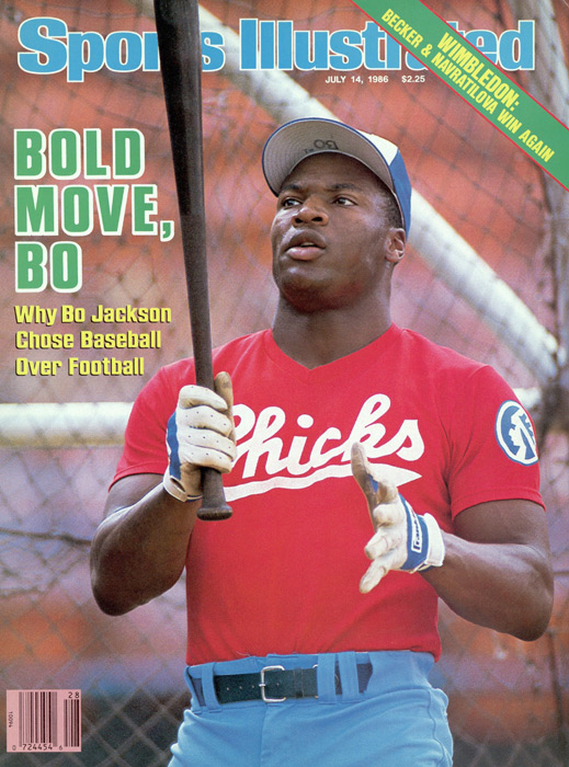 This 1986 issue marked the second time Jackson had made the SI cover. Jackson would appear on the cover two more times in his playing days.